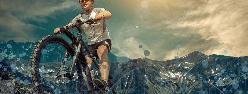 Radfahren mit Neuro-Socks 1