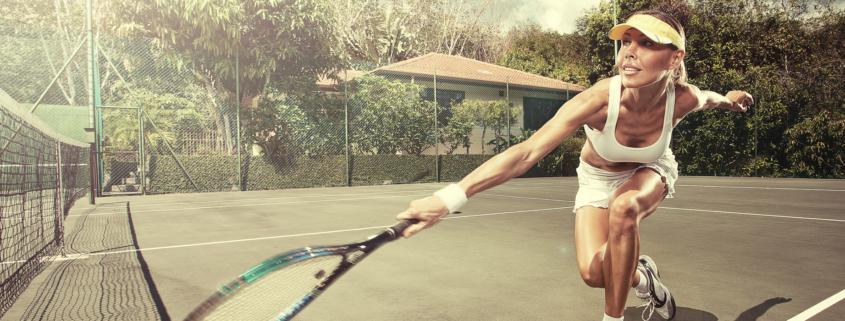 Tennis mit Neuro-Socks 1