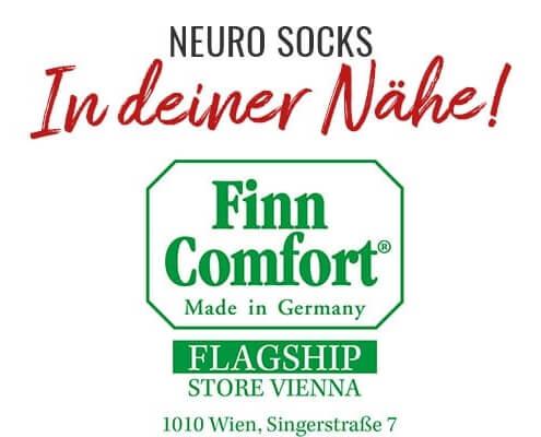 NEURO SOCKS jetzt auch im Finn Comfort (Wien) 6