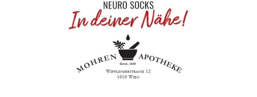 NEURO SOCKS in der Mohren Apotheke (Wien) 1