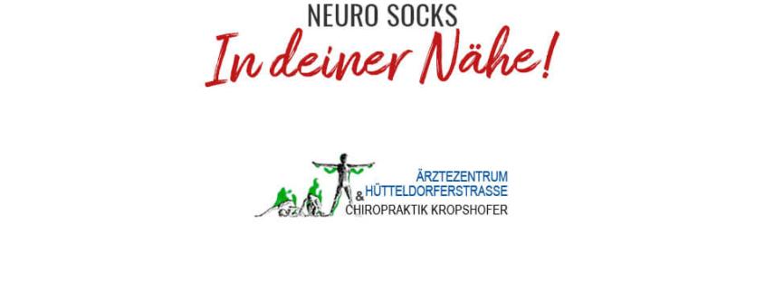 NEURO SOCKS jetzt auch im Ärztezentrum Hütteldorferstrasse 1
