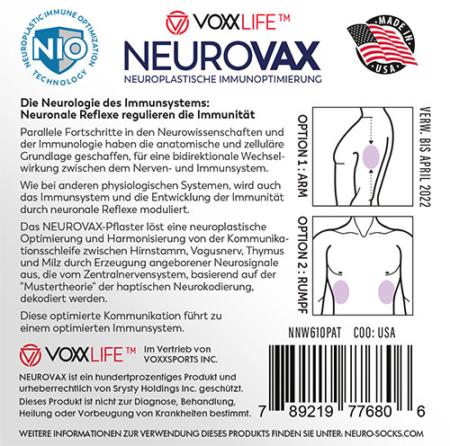 NEUROVAX Pflaster - Neuroplastische Immunoptimierung 2